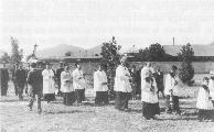 Poletje 1943 - Pogreb Jožeta Šimnovca na draveljskem pokopališču
