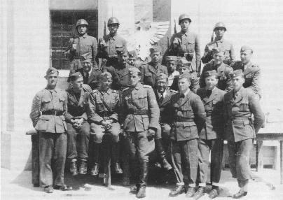 Skupina draveljskih domobrancev