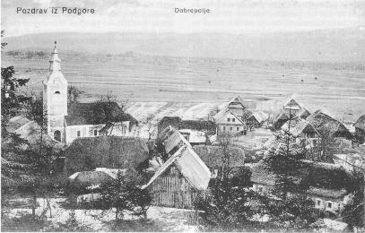 Podgora pred prvo svetovno vojno