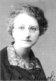 Učiteljica Ivanka Pucelj