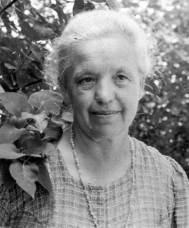 Marija Lah po prihodu iz zapora julija 1945