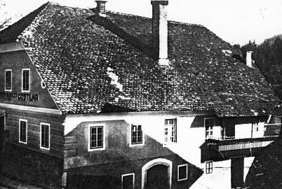 Hiša družine Burkeljca - Videtova - na Lazah v Tuhinju