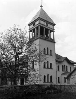 Nova šmarska cerkev 1960