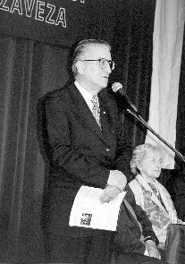 Podpredsednik Nove Slovenske zaveze Anton Drobnič