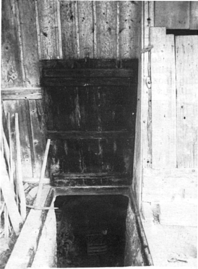 Vhod v zimsko klet