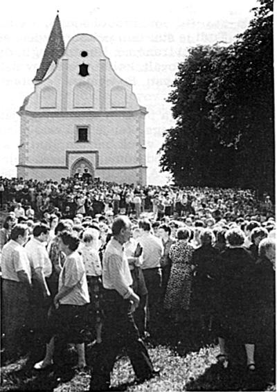 Žegnanje pri Sv. Ani 1992