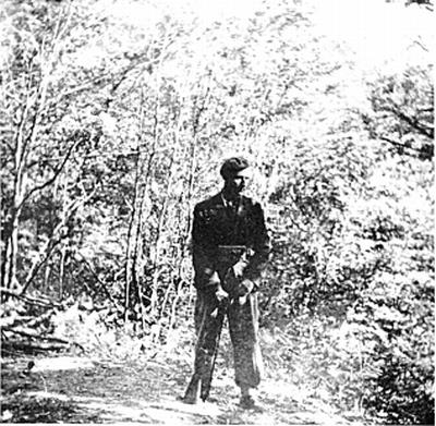 Vinko Sever ob ponovnem obisku na Ključu