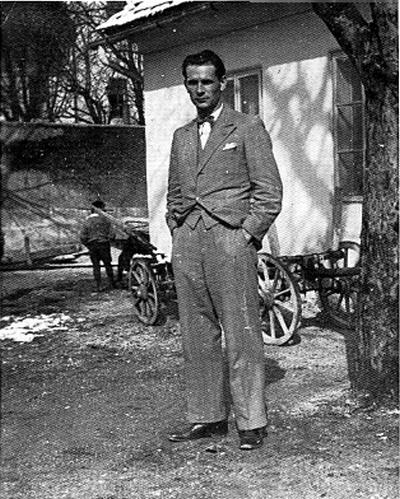 Rudi Marinčič v Vitanju 1936