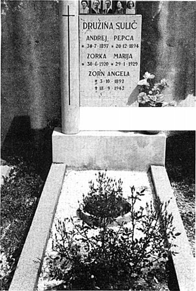 Nagrobnik družine Sulič