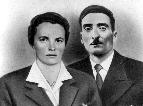 Mož in žena, Francka in Miha Garbajs