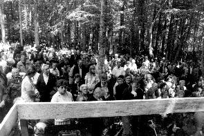 Kočevski Rog 2001 – Med sv. mašo