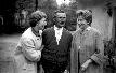 Franc Ložar, levo Vida, desno Nada