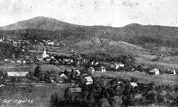 Gornji Logatec pred vojno – Spodaj desno del Gorenje vasi