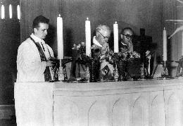 Škof dr. Gregorij Rožman – Maša na tujih tleh