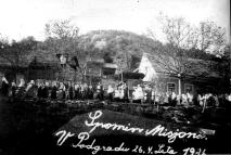 Zaključek predvojnega misijona v Podgradu