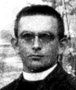 Dragatuški župnik Jakob Omahna, umorjen na Mavrlenu julija 1942