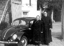 Belgija 1960 – Kazimir Gaberc s svojo mamo