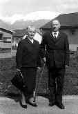 Oče Viktor Mrak in mati Kristina v Spittalu